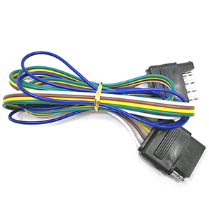 Vehicle-Side and Trailer-Side 48 5-Pin Trailer Wiring Connector ...