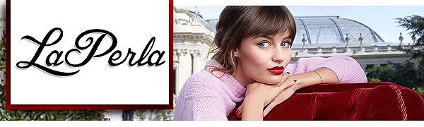 LaPerla Logo, Laperla Exclusive Beauty Combo Makeup Set With Gold Facial Kit
