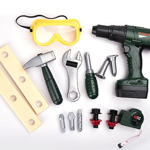 kids battery operated tools play power tools  power tool kit for kids