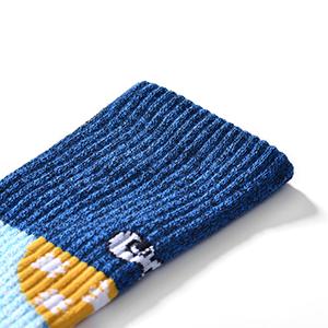 Elastische Socken Mund