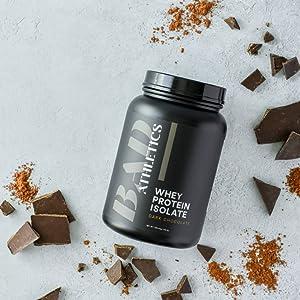 Bad Athletics 100% Whey Protein Isolate Dark Chocolate