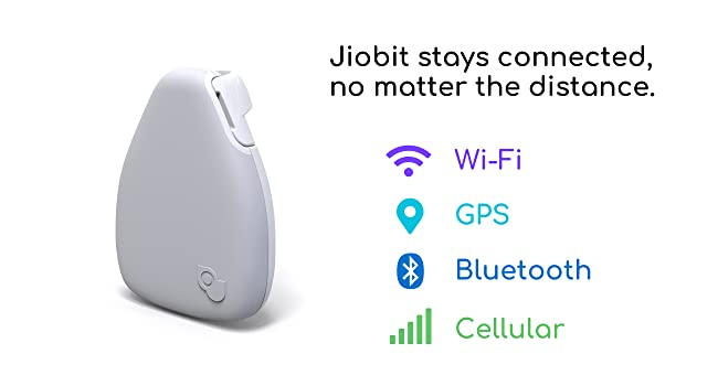 Jiobit GPS Bluetooth Wi-Fi Cellular Location Tracking