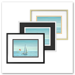 golden state art 3 double matted frames display sizd 8x10 for 5x7 with photo print