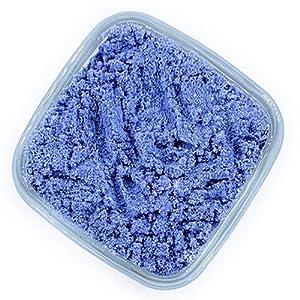 blue donut sugar, blue snow sugar, blue non-melting sugar, blue dusting powder, blue cake dust