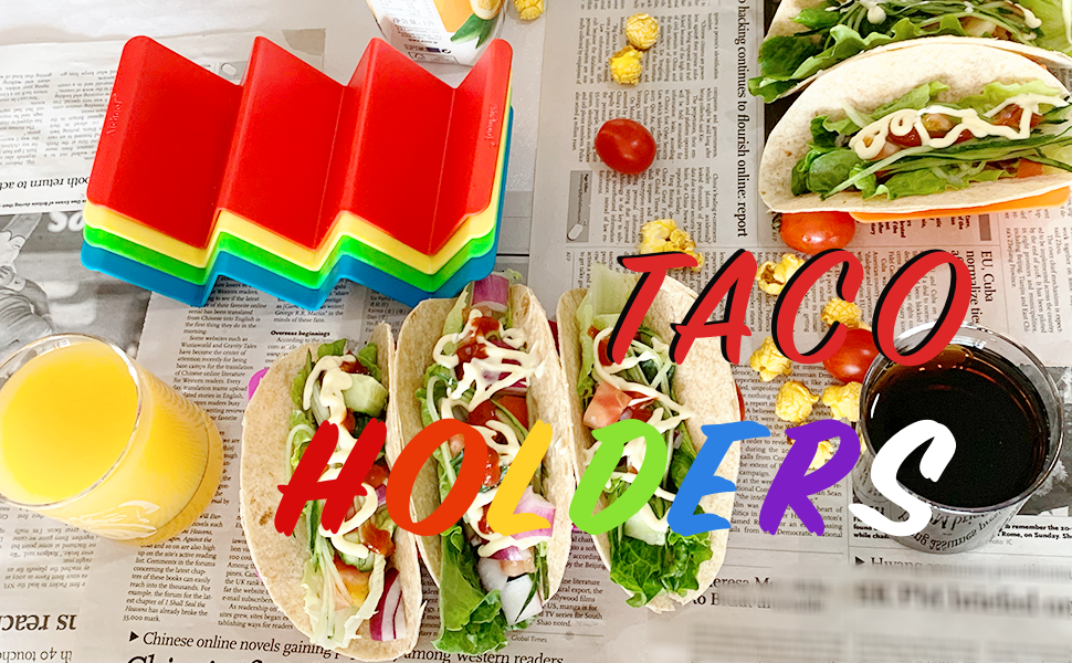 taco tray stand holder plate