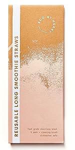 Reusable Extra Long Smoothie Straws