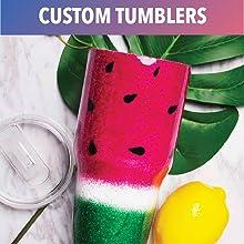 Epoxy Resin Tumbler Cup Custom
