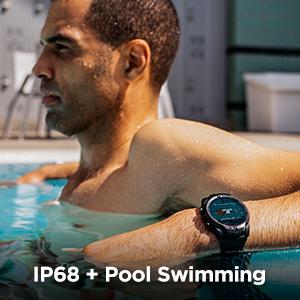 IP68 water resistant