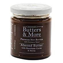 butters more almond butter chocolate south sugar free dark vegan stevia keto march cocoa hazelnut