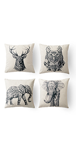 elephant pillow for couch square elephant pillow animal printed pillow cover elephant couch covers