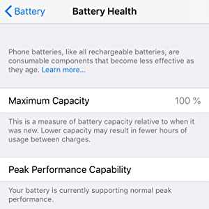 Full battery health and capacity with ScandiTech battery replacement kit
