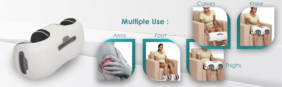 foot calf knee massager for home