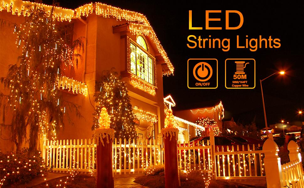 164ft string light