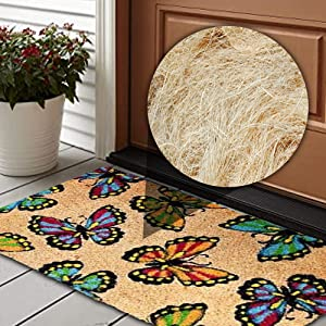 Durable with Natural Coir Material mats