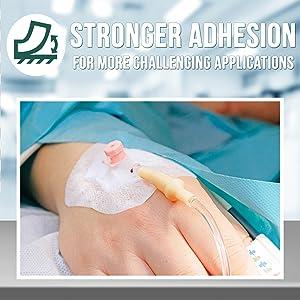 adhesive wound dressing gauze tape medical