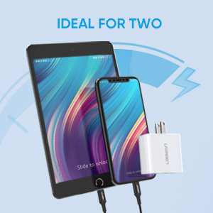 2 port usb charger adapter
