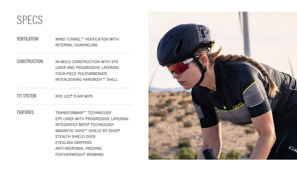 vanquish mips helmet specs