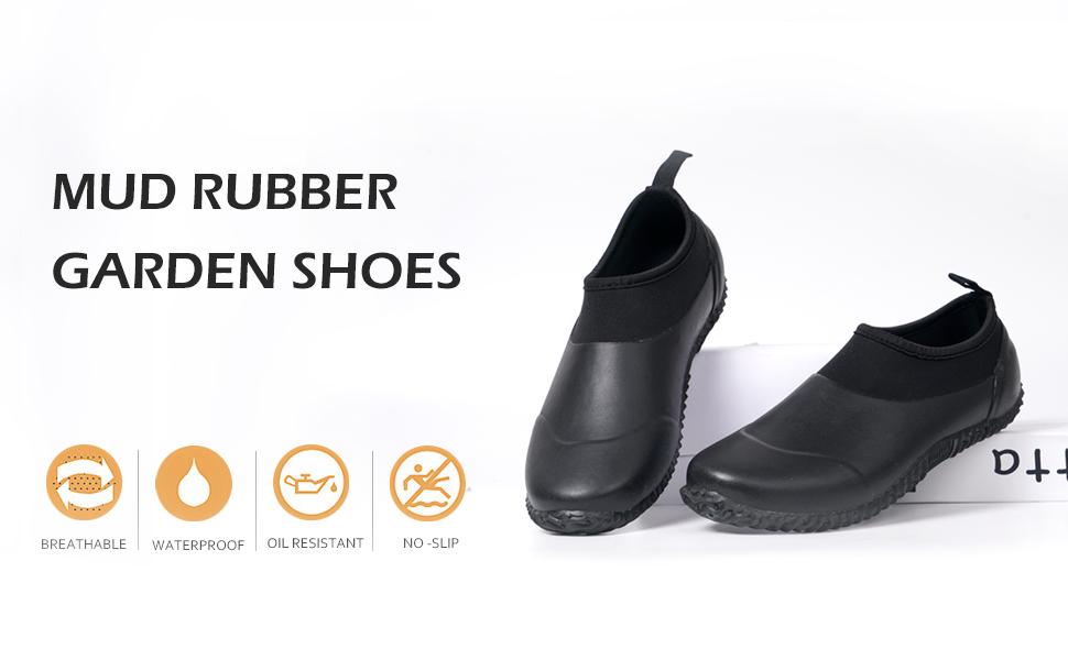 mud rubber garden shoes