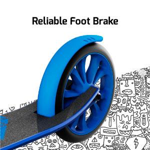 Reliable foot brake