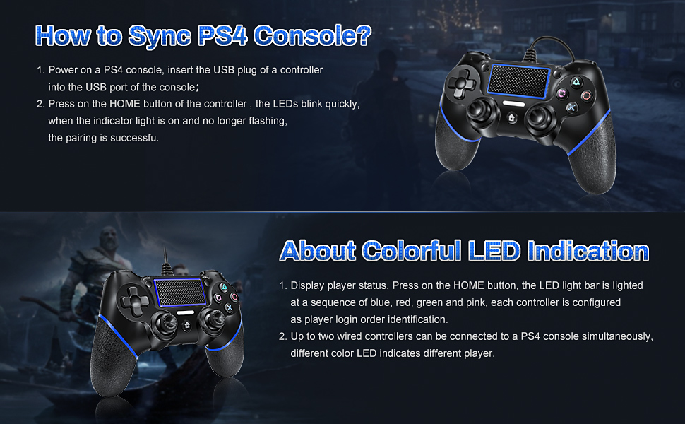 ps4 controller for sony playstation 4