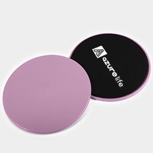 purple exercise sliders