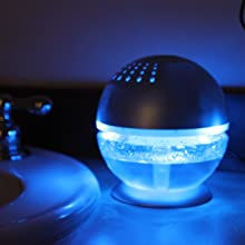 night light bathroom bedroom aromatherapy oil diffuser air cleaner