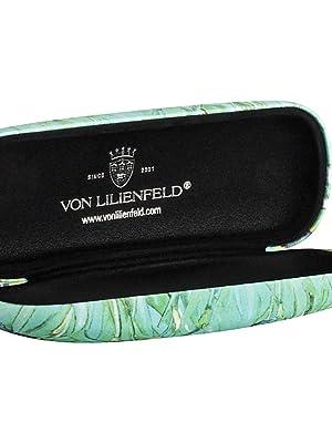 VON LILIENFELD Estuche Gafas Funda Ligeramente Estable Colorido Regalo Motivo Arte Floral Vincent van Gogh: Lirios: Amazon.es: Ropa y accesorios