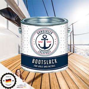 Hamburger Lack Profi Bootslack GlÄnzend Für Holz Und Metall Weiß Ral 9010 Yachtlack Yachtfarbe Bootsfarbe Sport Freizeit