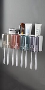 (4 Cup ) Toothbrush Holder