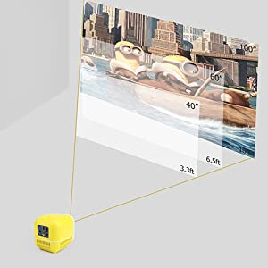 adjustable projection size