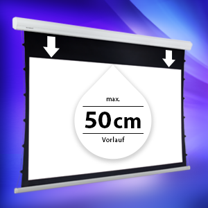"ESMART Expert XTR Tension Leinwand AKUSTIK 266 x 149 cm (120"") 16:9"
