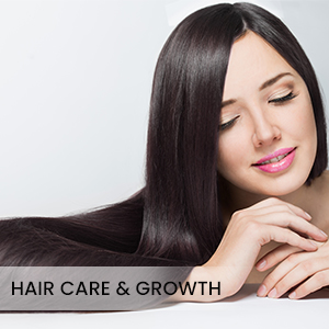 Long, thick and shining hair growth, used for dry, damaged, frizzy, dull hair, controls hair loss