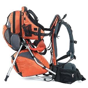 MONTIS Hoover, Mochila portabebés, 25 kg, Naranja: Amazon.es ...