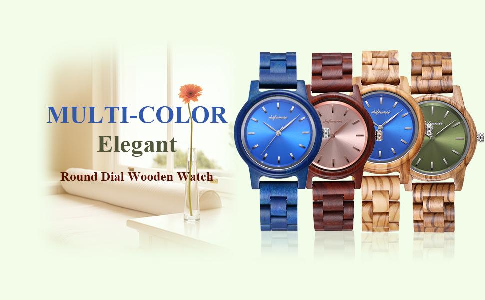 wood watches women logo