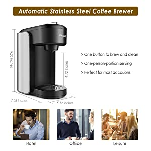 Coffee Brewer in Home