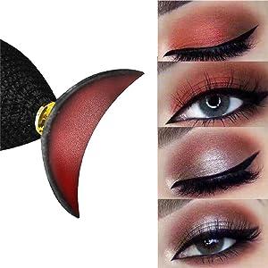 precise eyeshadow in seconds, Eyeshadow Applicator with Crystal Ball Handle