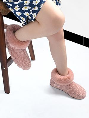 women slipper booties