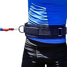acceleration speed cord recoil waist belt bungee cord exercise equipment resistance band belt ASC
