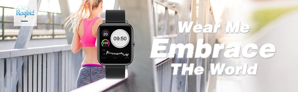 Rogbid Rowatch1 Smart Watch Running