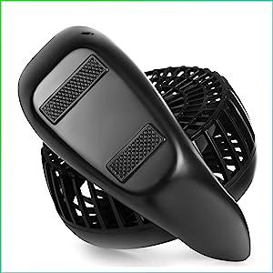 battery black fan