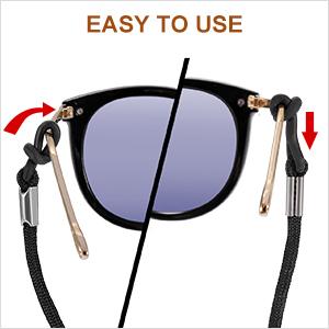 comfortable glasses strap
