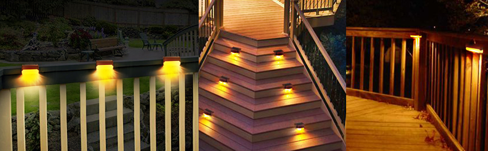 solar stair lights