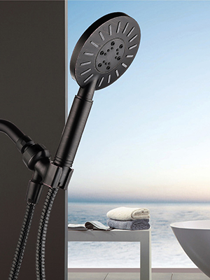 bronze shower head combo