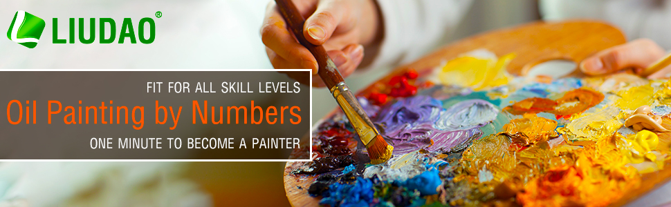 oil painting by numbers