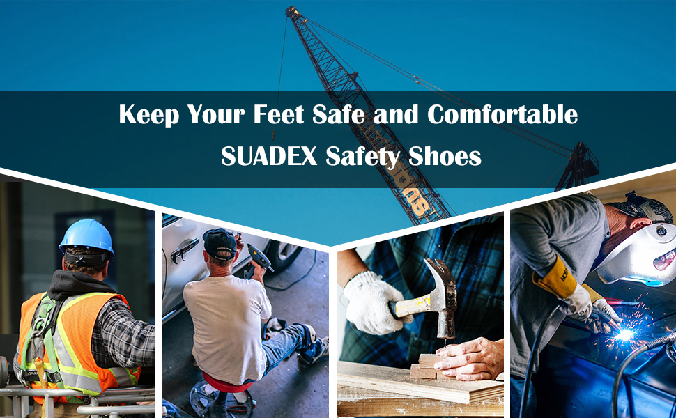 suadex safety shoes logo