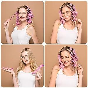 hair styling kit for women kids short hair long hair rollers strips rollers rolling