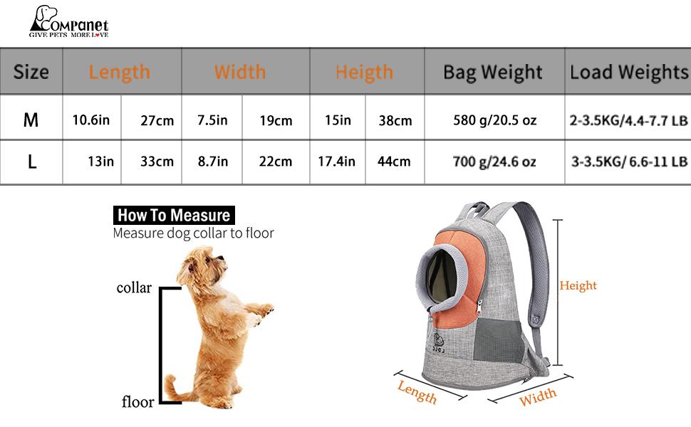 Pet Carrier Chest Bag (Orange)