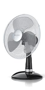 301525 Ventilateur de table  40 cm Gris