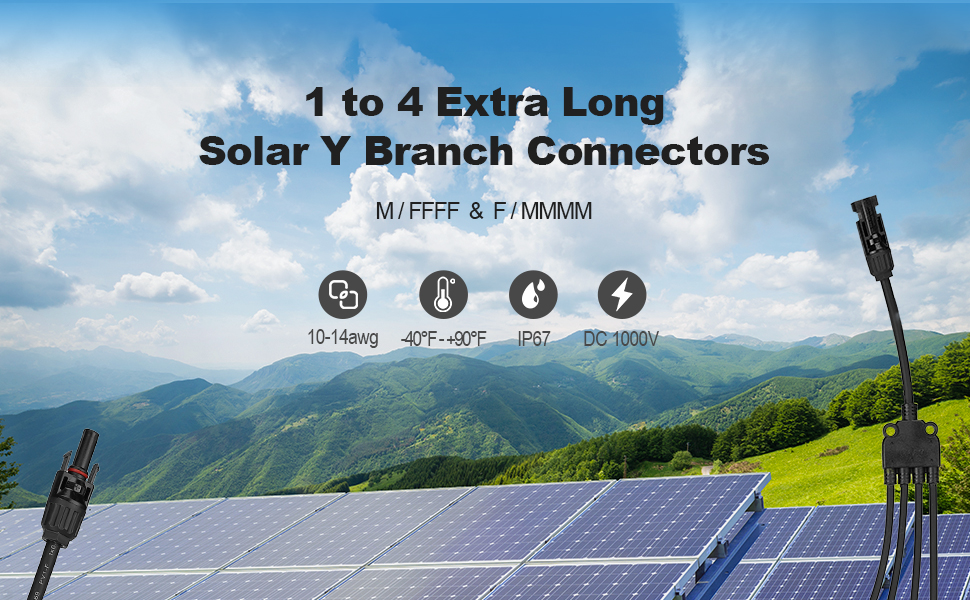 Solar branch connector