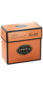 Smith Teamaker Meadow Blend No. 67 (Large Cut Herbal Chamomile and Rooibos Caffeine Free Infusion)